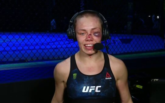 UFC 251: Rose Namajunas Post-fight Interview