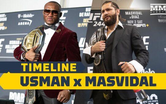 UFC 251 Timeline: Kamaru Usman vs. Jorge Masvidal – MMA Fighting