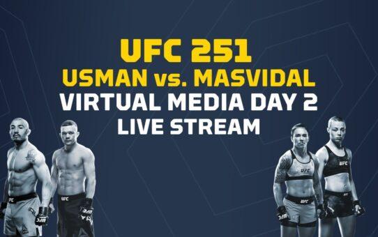 UFC 251 Virtual Media Day 2: Usman vs Masvidal – MMA Fighting