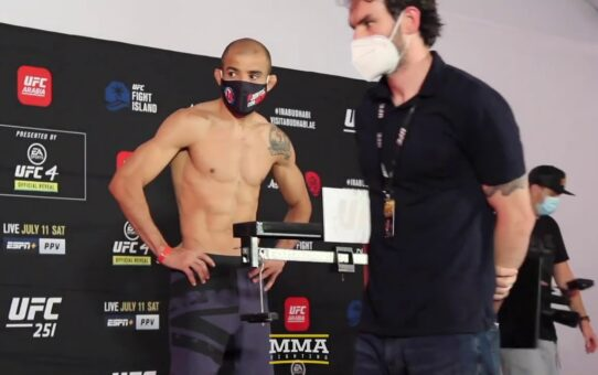 UFC 251 Weigh-Ins: Petr Yan, Jose Aldo Make Weight – MMA Fighting