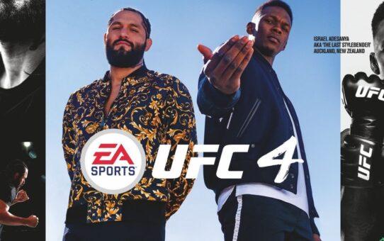 UFC 4 Cover Athletes Are Israel Adesanya, Jorge Masvidal – MMA FIghting