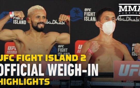 UFC Fight Island 2 Official Weigh-In Highlights – MMA Fighting