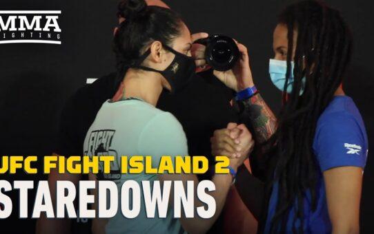 UFC Fight Island 2 Weigh-In Staredowns – MMA Fighting