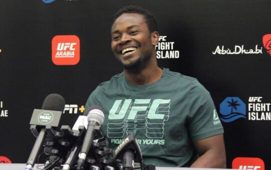 UFC on ESPN 13: Abdul Razak Alhassan Media Day Scrum – MMA Fighting