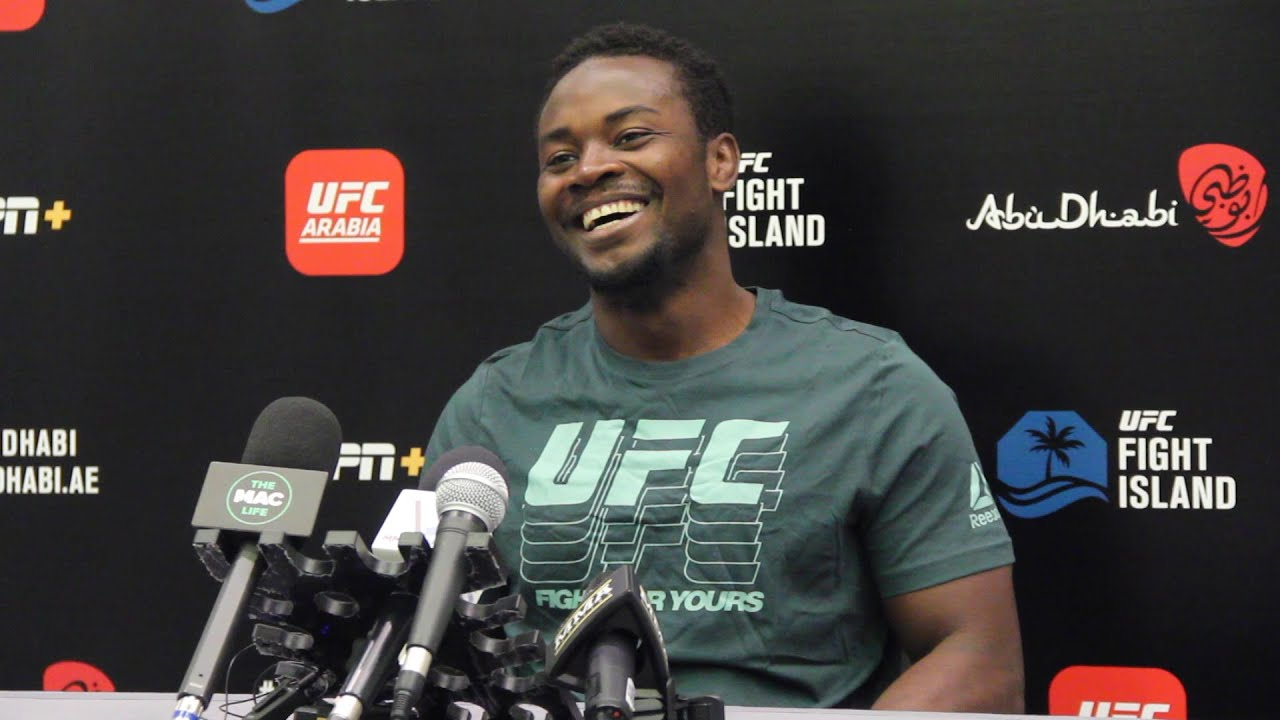 UFC on ESPN 13: Abdul Razak Alhassan Media Day Scrum - MMA Fighting