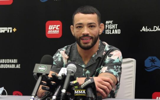 UFC on ESPN 13: Dan Ige Media Day Scrum – MMA Fighting
