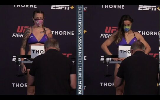 UFC Vegas 5: Joanne Calderwood, Jennifer Maia Make Weight – MMA Fighting