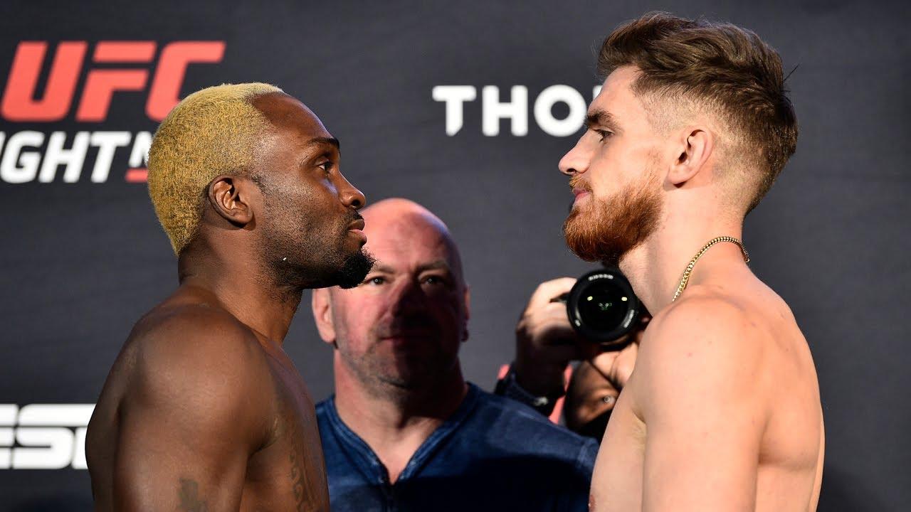UFC Vegas 5: Weigh-in Faceoffs