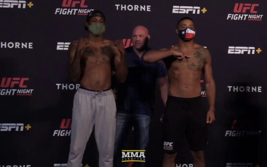 UFC Vegas 5 Weigh-In Staredowns – MMA Fighting