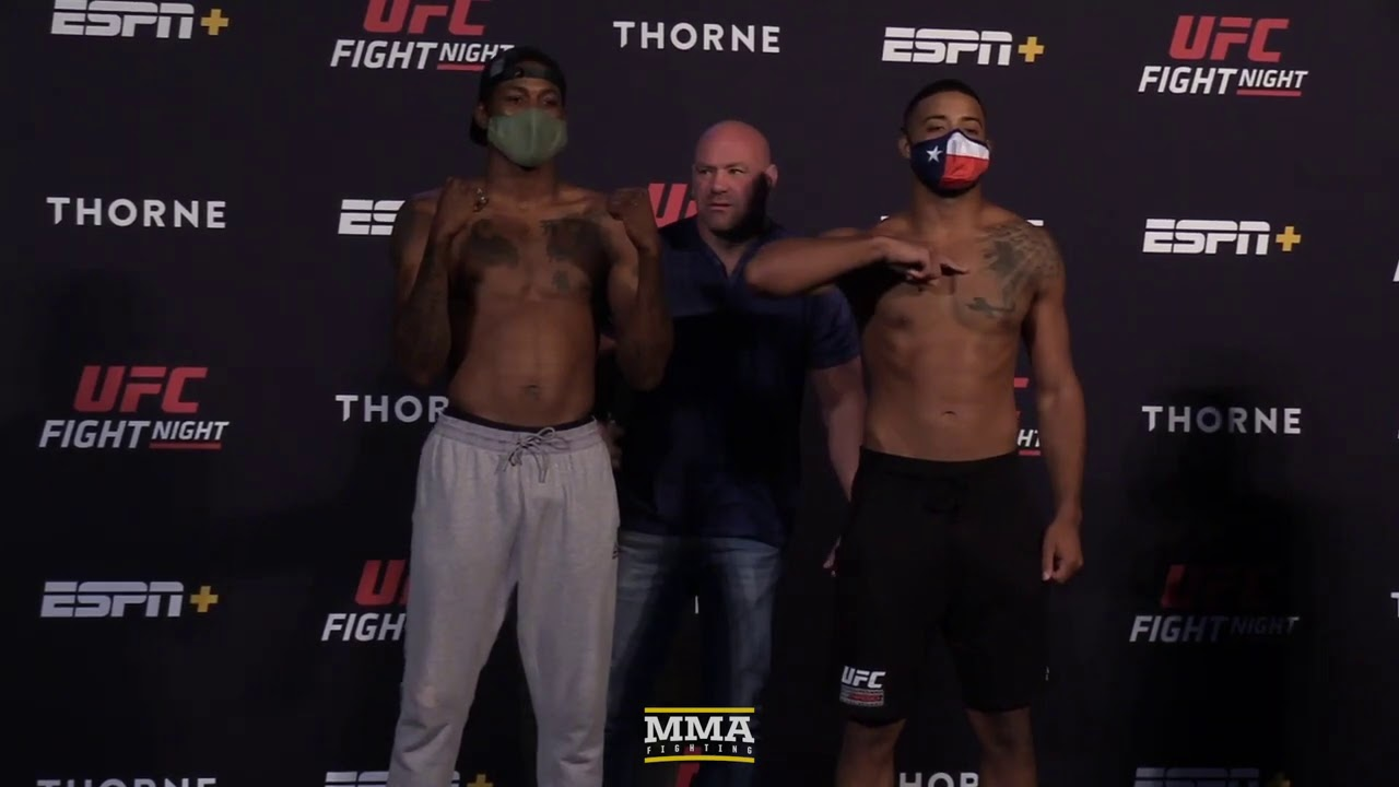 UFC Vegas 5 Weigh-In Staredowns - MMA Fighting