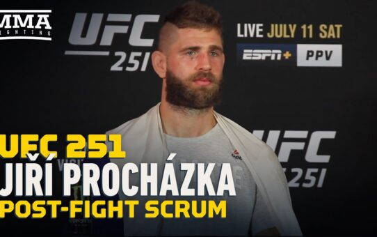 Jiri Prochazka Wants A Quick Trip To The Title Because 'I Don't Like To Hurt People' – MMA Fighting