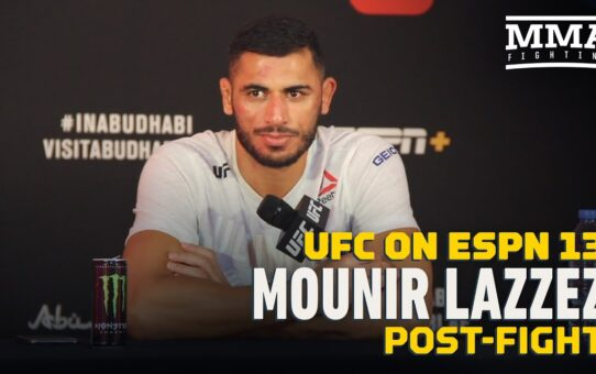 Mounir Lazzez Wants to Put 'Idiot' Mike Perry In His Place For Teammate Darren Till – MMA Fighting