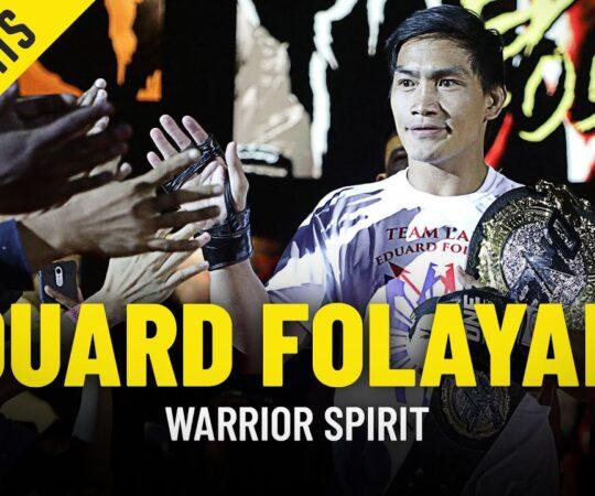 Warrior Spirit Episode 7: Eduard Folayang   ONE Championship Special