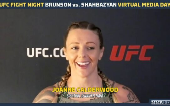 UFC Vegas 5: Joanne Calderwood Explains Risking a Title Shot to Tight Jennifer Maia – MMA Fighting
