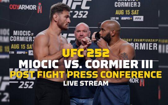 UFC 252: Stipe Miocic vs. Daniel Cormier Post Show Live Stream – MMA Fighting