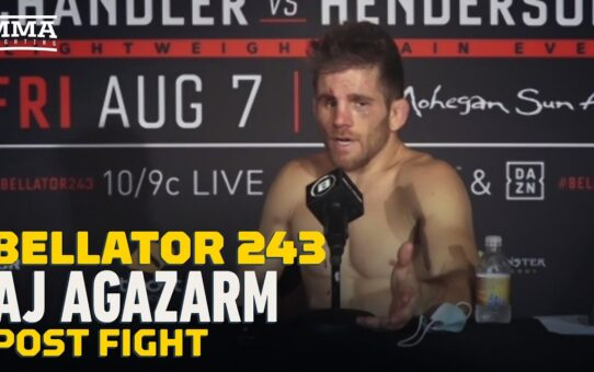 Bellator 243: AJ Agazarm Calls Douglas Crosby's Judging of Fight 'Unethical' – MMA Fighting