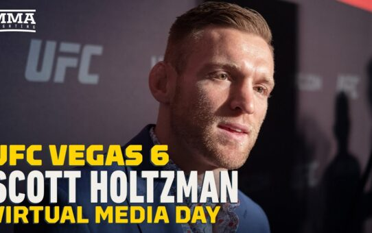 Scott Holtzman Welcomes a Fire Fight at UFC Vegas 6 Because Beneil Dariush 'Always' Gets Hit Hard
