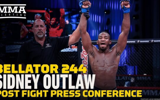 Bellator 244: Sidney Outlaw Rips Split Call, Says Ray Charles Could Have Seen His Win – MMA Fighting