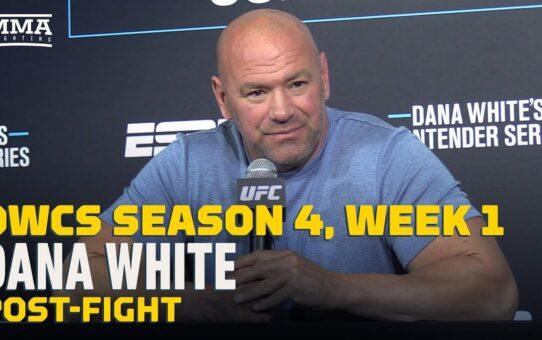 DWCS Season 4, Week 1: Dana White Post-Fight Press Conference – MMA Fighting