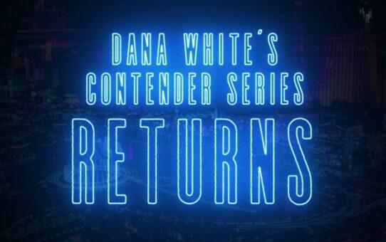 Dana White's Contender Series – Season 4 Trailer   Live Every Tuesday