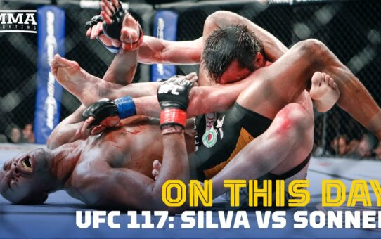On This Day In MMA: Anderson Silva Submits Chael Sonnen At UFC 117 – MMA Fighting