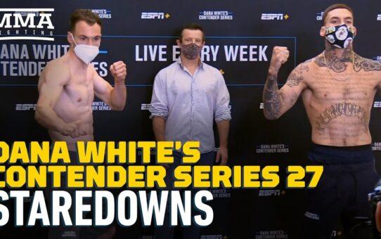 DWCS Season 4 Week 1 Weigh-In Staredowns – MMA Fighting