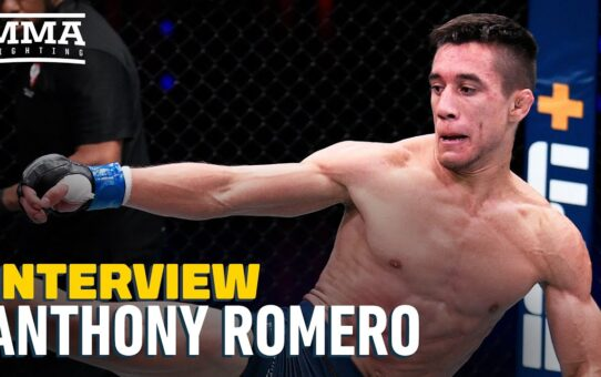 Anthony Romero Talks DWCS Snub, Dana White's Comments: 'I Deserve To Be in the UFC' – MMA Fighting