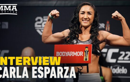 Carla Esparza 'Tired of Being the Gatekeeper,' Wants Another Shot To Become Champion – MMA Fighting