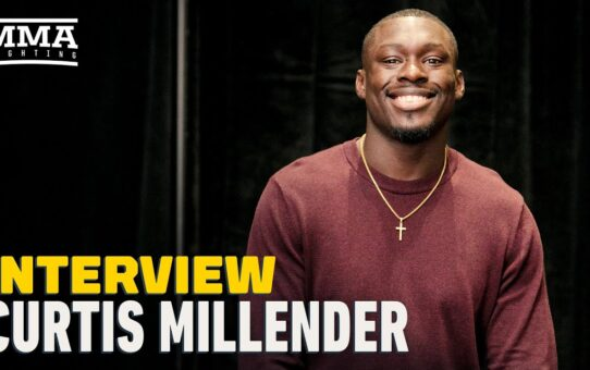 Curtis Millender Gives Sabah Homasi 'Half a Round' Before He Becomes a Wrestler – MMA Fighting