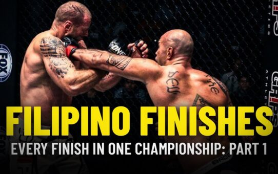 Every Filipino Finish In ONE Championship | Part 1