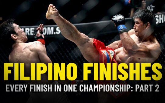 Every Filipino Finish In ONE Championship | Part 2