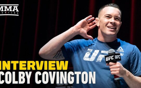 Colby Covington Gives Fight Update, Predicts Tyron Woodley 'Leaves On A Stretcher' – MMA Fighting