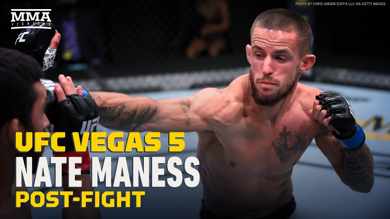 Nate Maness Reflects On 3 Low Blows From Johnny Munoz Jr At UFC Vegas 5 - MMA Fighting