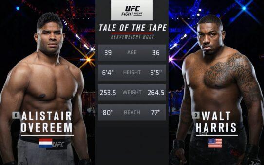 Free Fight: Alistair Overeem vs Walt Harris