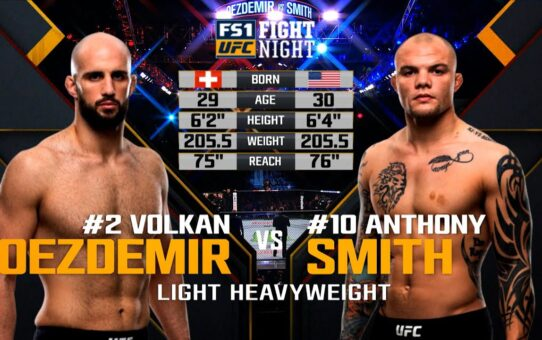 Free Fight: Anthony Smith vs Volkan Oezdemir