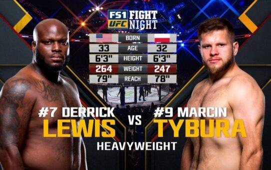 Free Fight: Derrick Lewis vs Marcin Tybura