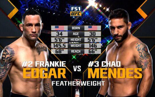 Free Fight: Frankie Edgar vs Chad Mendes