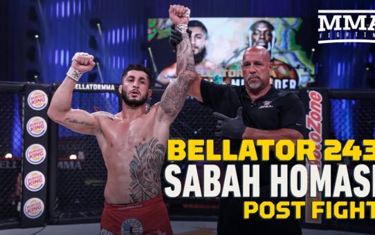 Bellator 243: Sabah Homasi Will Auction Fight Kit to Help People in Lebanon  – MMA Fighting