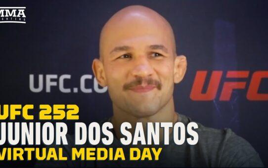 UFC 252: 'DWTS' Vet Junior Dos Santos Rates Moves Vs. Chuck Liddell, Paige VanZant – MMA Fighting