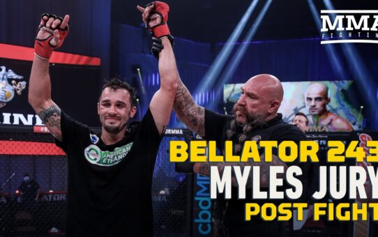 Bellator 243: Myles Jury Wants Title Shot After Decision Win – MMA Fighting