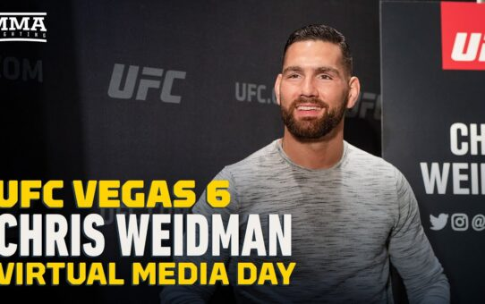 Chris Weidman Wants to Return to Title Contention, No Interest in Revisiting Anderson Silva Rivalry