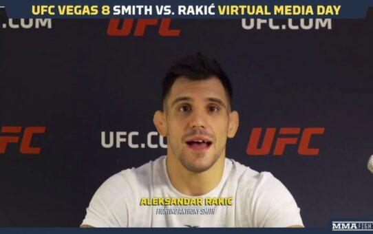 UFC Vegas 8: Alexander Rakic Might One Day Follow Jon Jones To Heavyweight One – MMA Fighting