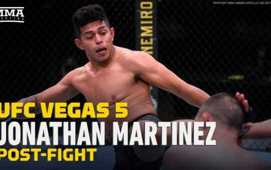 Jonathan Martinez Told Franke Saenz 'Stay Down' After Two Knockdowns At UFC Vegas 5 – MMA Fighting
