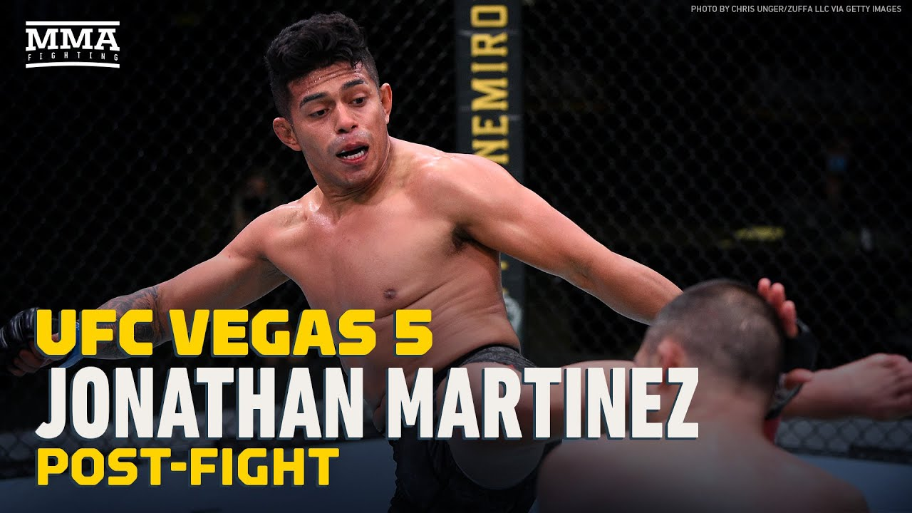 Jonathan Martinez Told Franke Saenz 'Stay Down' After Two Knockdowns At UFC Vegas 5 - MMA Fighting