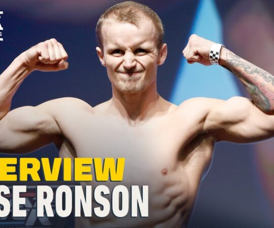 Jesse Ronson Recalls 'Epic' First UFC Win In Third Shot With The Company – MMA Fighting