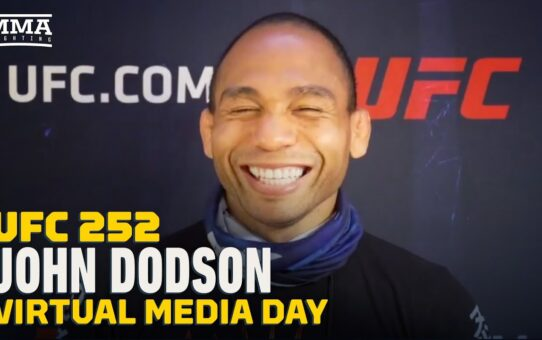 UFC 252: John Dodson Eyes Futures Opportunity At Flyweight With 'Wishy-Washy' Champ – MMA Fighting