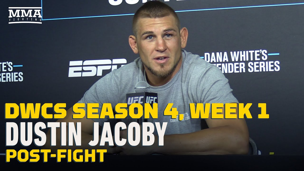 DWCS Season 4, Week 1: Dustin Jacoby Post-Fight Press Conference - MMA Fighting