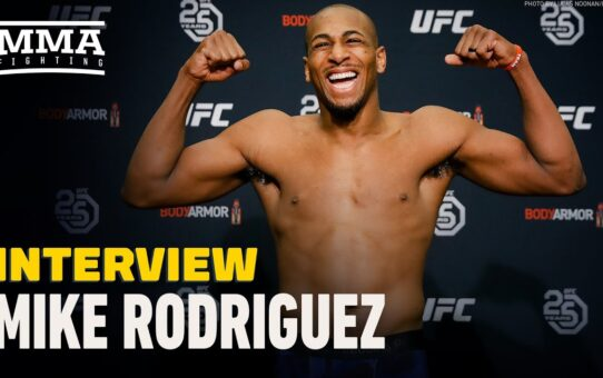 Mike Rodriguez Recaps Pivotal TKO Win, Believes Dominick Reyes Will Be Next Champion – MMA Fighting