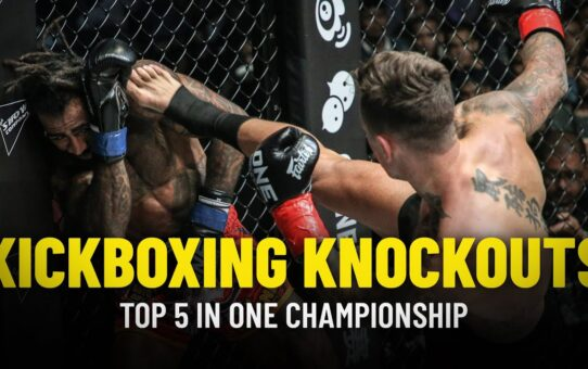 Top 5 Kickboxing Knockouts In ONE Championship