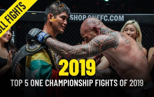 Top 5 ONE Championship Fights Of 2019